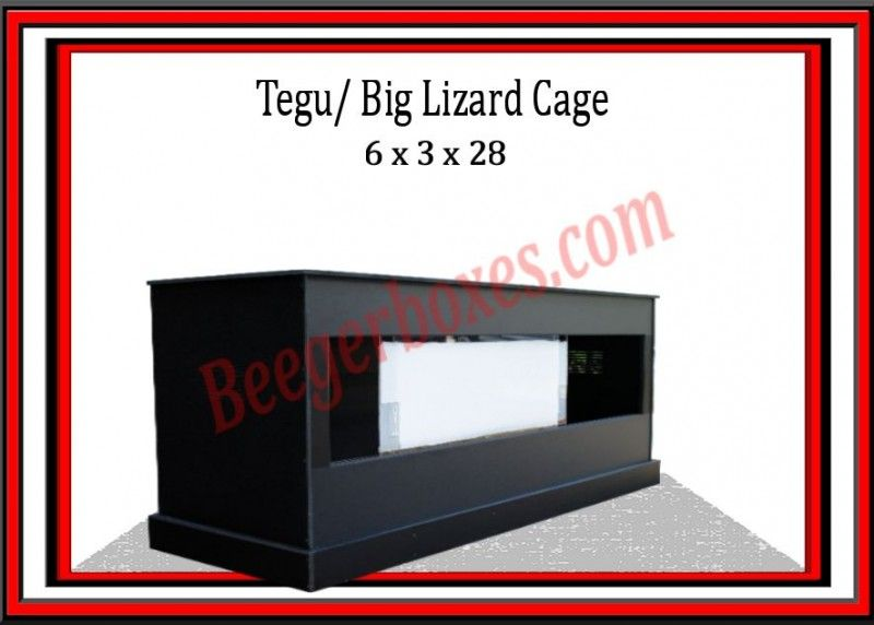 large tegu cage big lizard cage pvc monitor cage this stunning