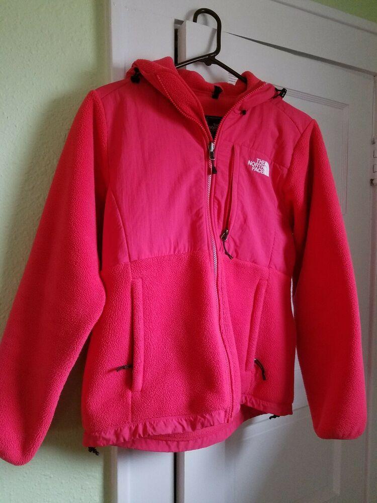 10b572899db7 The North Face Womens Hooded Denali Fleece Jacket Bright Pink Medium   fashion  clothing  shoes  accessories  womensclothing  coatsjacketsvests  (ebay link)