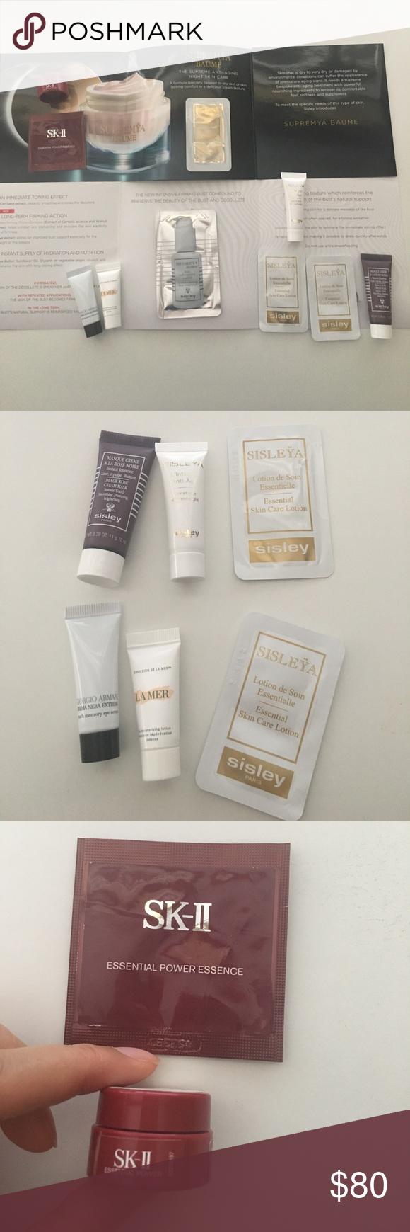 Luxury Skin Care Sample 10 Pieces Sisley La Mer Sisleya Anti Age 4ml Value 42 Sisley Black Rose Cream M Luxury Skincare Skincare Samples Skin Care Essentials