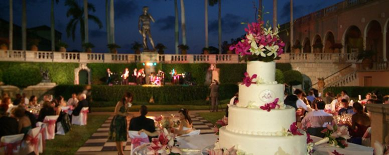 Wedding At The Courtyard In Ringling Museum There Are A Of Diffe Venue
