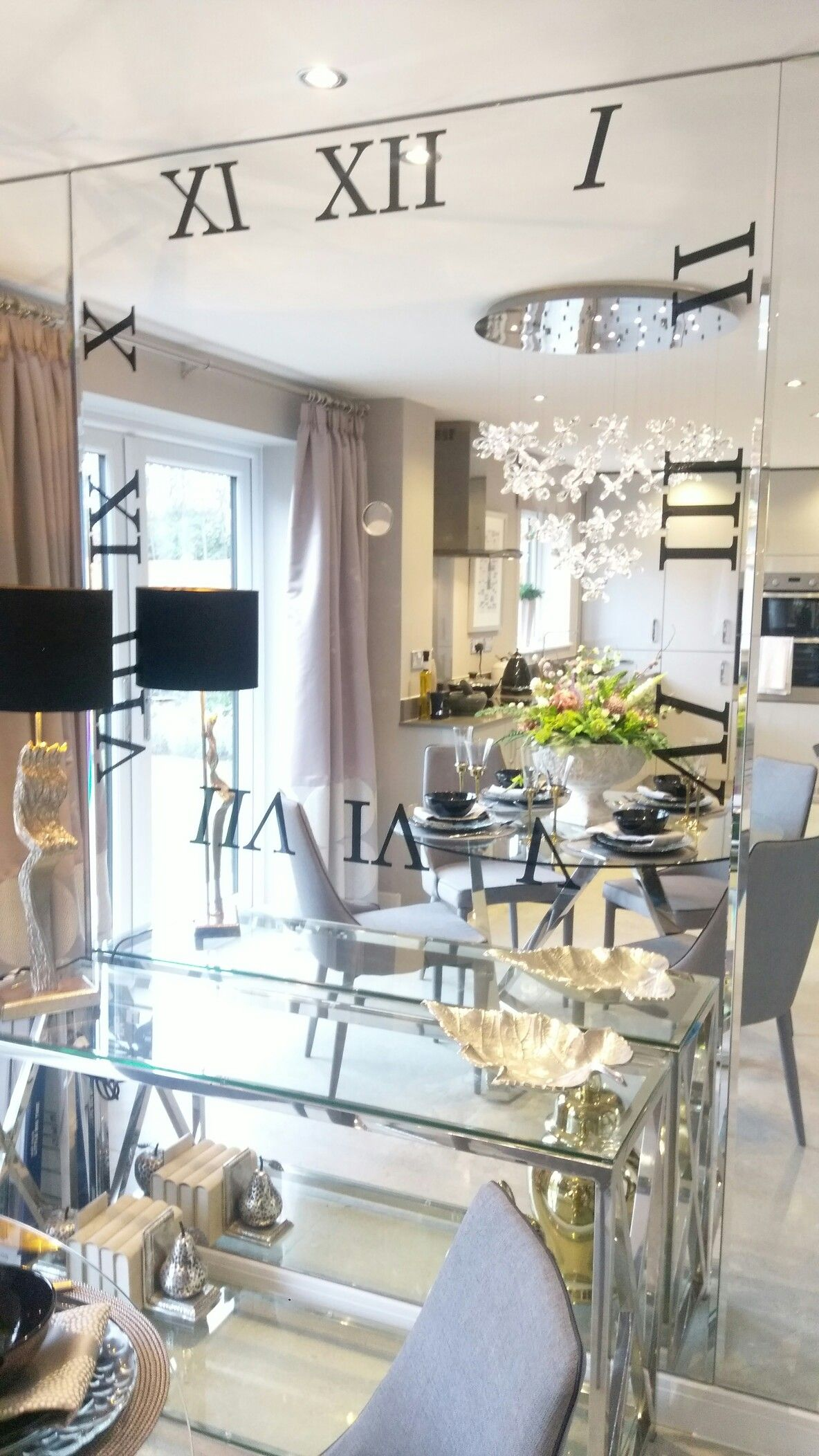 Dining Area. Wall Mirror. Bellway Homes. The Oakwood