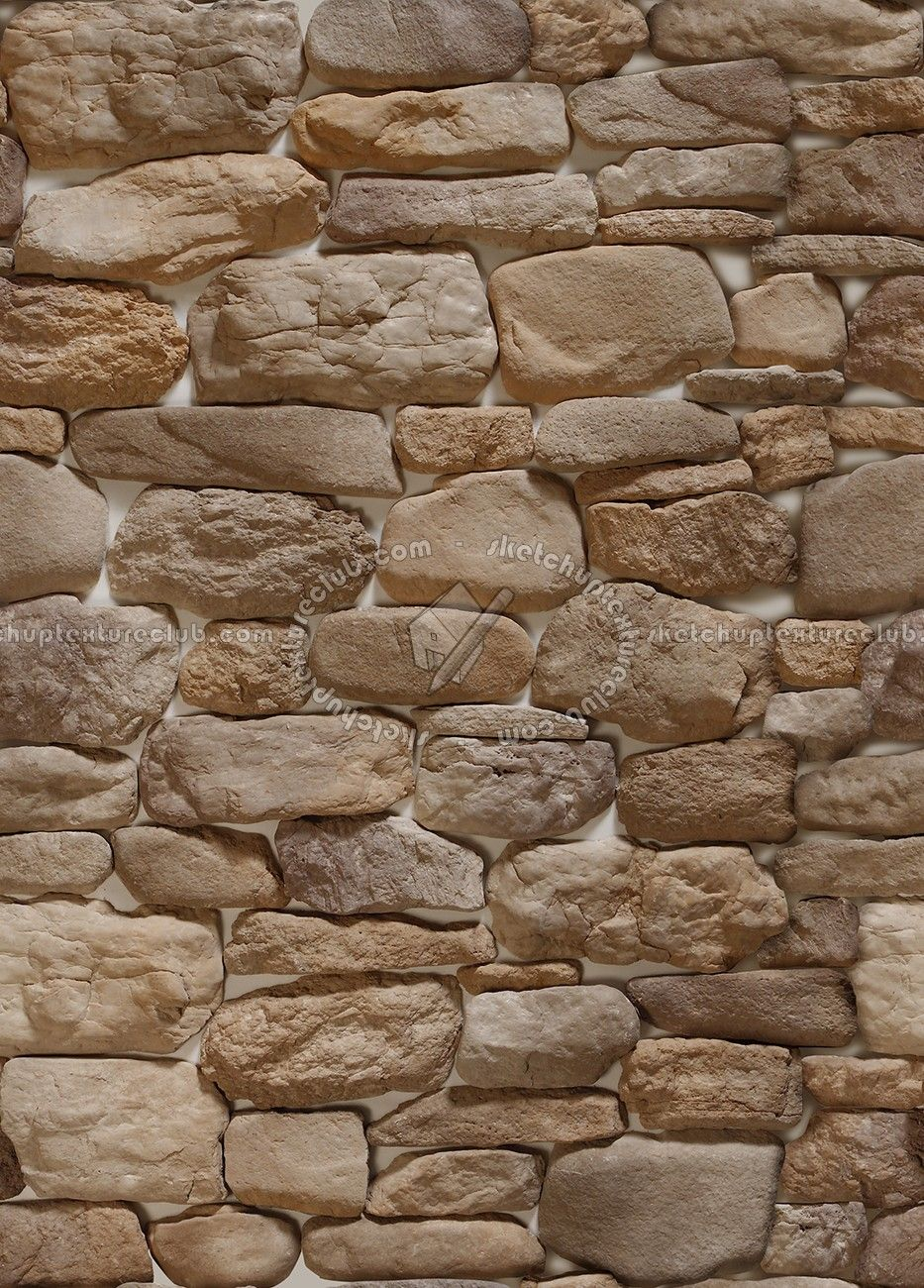 Wall Cladding Stone Mixed Size Seamless   Wall Cladding