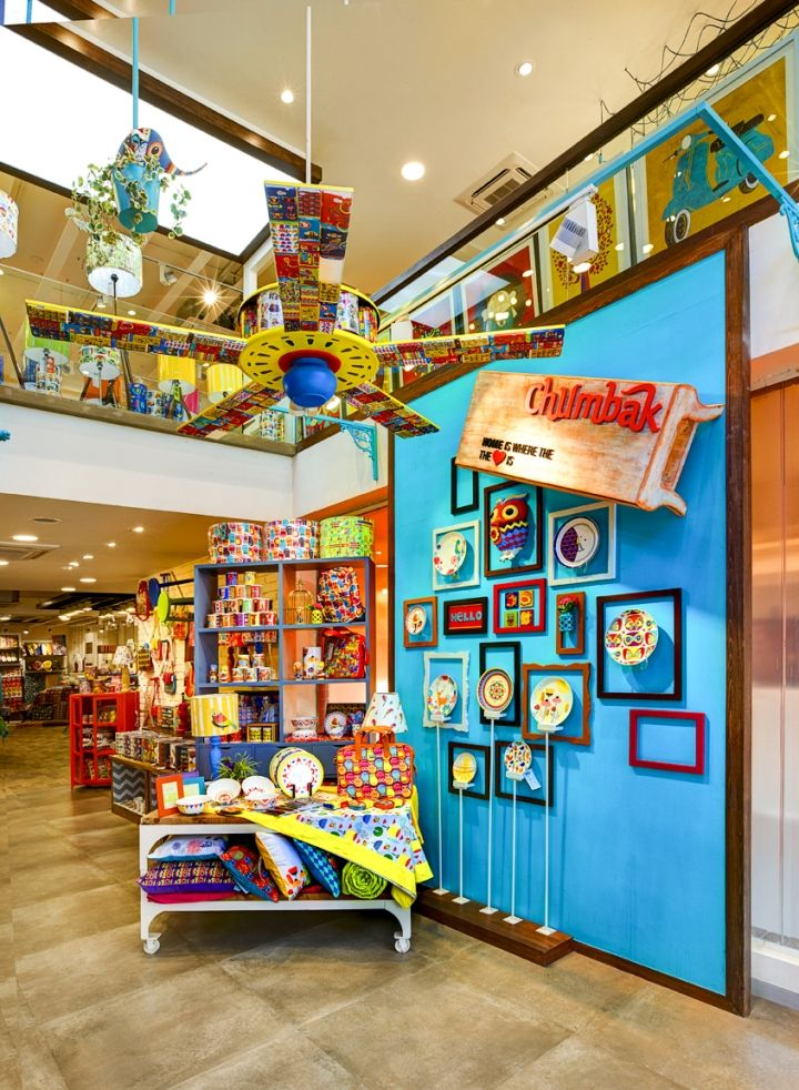 Chumbak Store By 4d Bangalore India Retail Design Blog India Home Decor Home Decor Shops India Decor