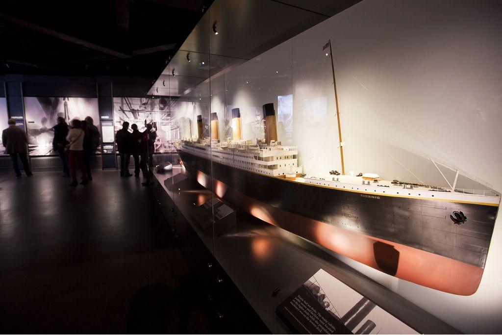 A l\'intérieur du musée du Titanic à Belfast : Titanic Experience ...