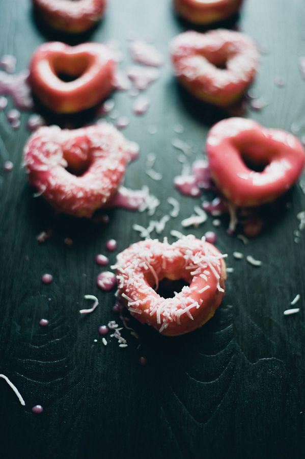 """""""I Love You"""" doughnuts"""