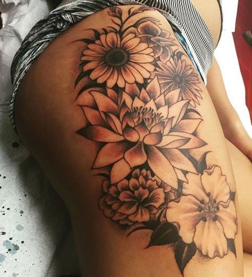 125 Best Flower Tattoos - Designs, Ideas and Meanings (2020 Guide)