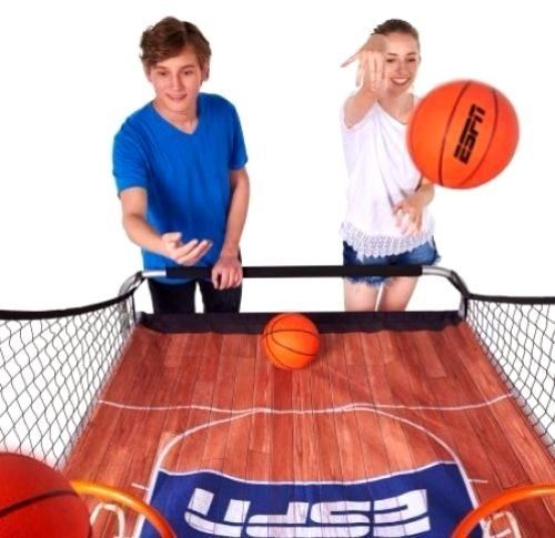 Electronic Backboard Basketball Game Double Shot Players Sports Arcade Kids Hoop Electron Basketball Games For Kids Basketball Games 2 Player Basketball Games