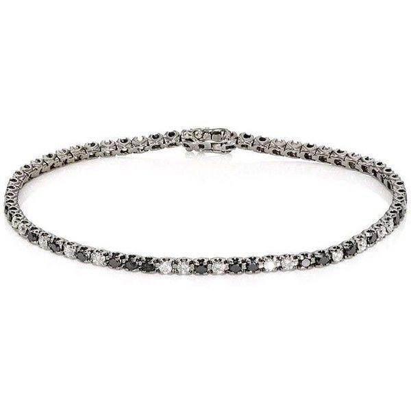 Eva Fehren Womens Diamond Tennis Bracelet Vw2bn