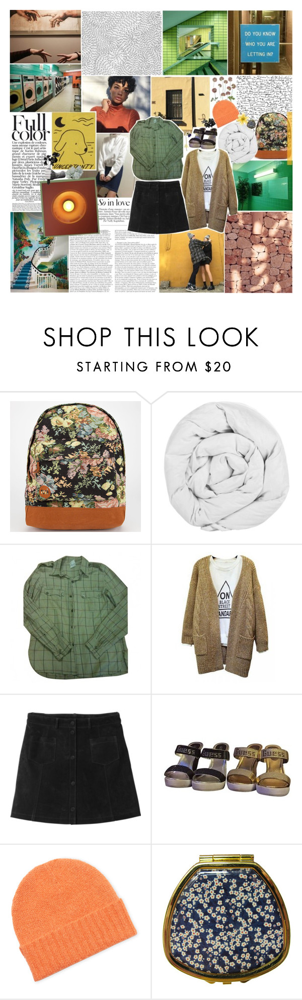 """05.05.16"" by gloomed ❤ liked on Polyvore featuring MANGO, Mi-Pac, The Fine Bedding Company, Laurence Doligé, Monki, Orla Kiely, Andrea Garland and Harry Allen"