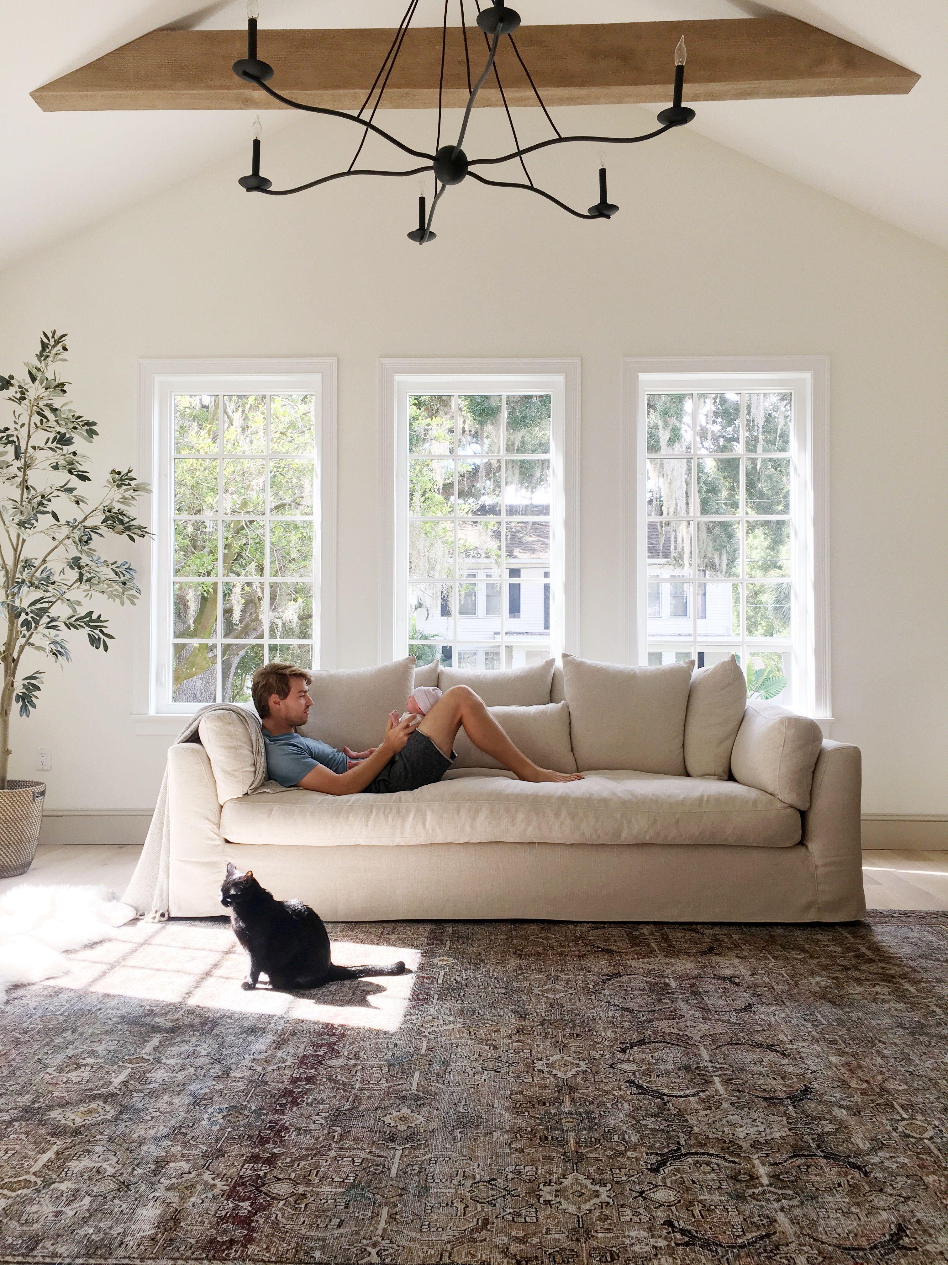 Linen + Slipcovered Sofas under $2k Roundup   Home design ...