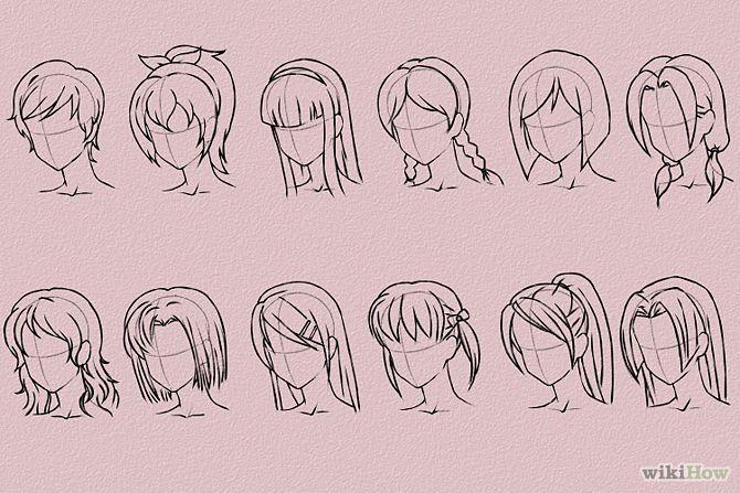 Anime Haare Zeichnen Haare Zeichnen Anime Haare Und Frisuren