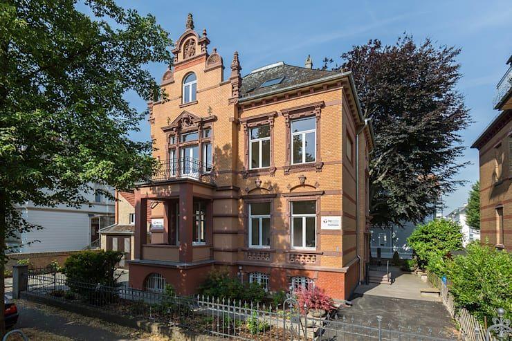 Sanierung einer historischen Stadtvilla in Wiesbaden