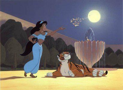 *JASMINE & RAJAH ~ Aladdin, 1992