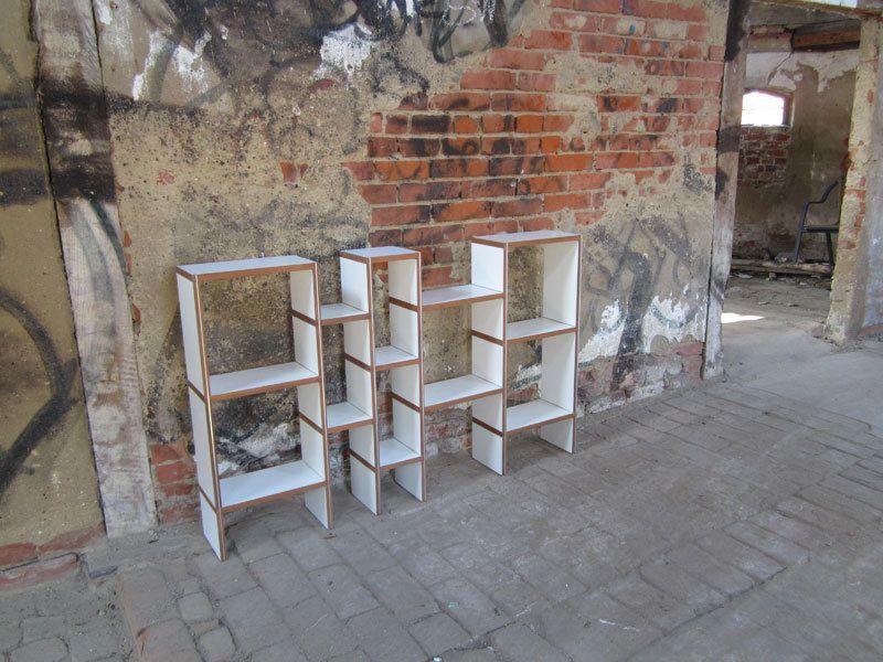 Bücherregale - purista Designregal grow - ein Designerstück von Schaefer-Dirk bei DaWanda