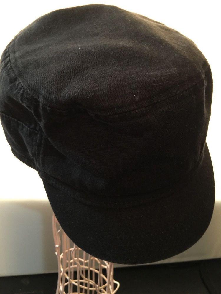 06ac63b282c15 Cap Gap Classic Cadet One Size Hat Outerwear Black Short Brim Adjustable  Strap  Gap  Cadet