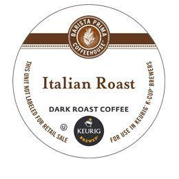 BARISTA PRIMA ITALIAN ROAST K CUP COFFEE 72 COUNT -- A special product just for you. See it now! : K Cups