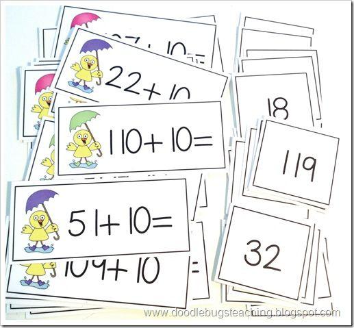 Adding +10 Spring Math Center (free)