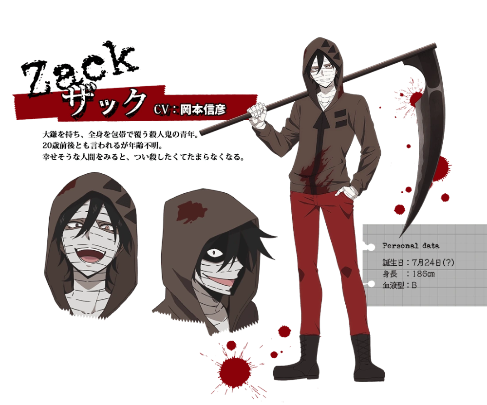 22+ Angels Of Death Anime Characters Background