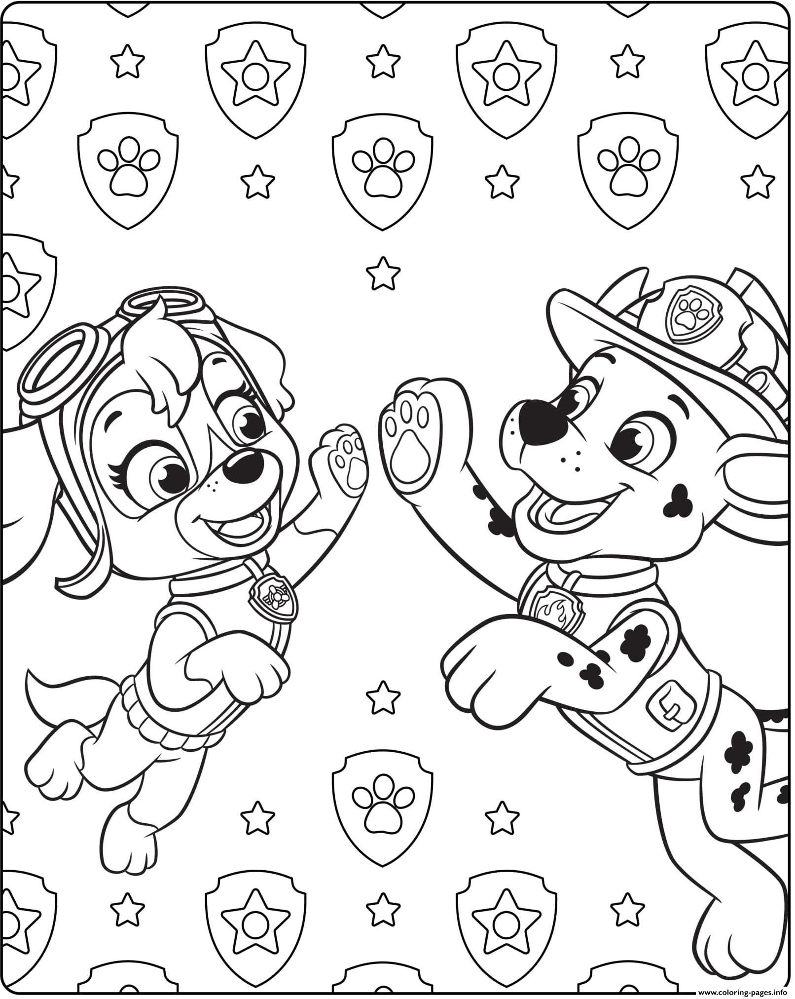 Paw Patrol Coloring Sheets Paw Patrol Ultimate Rescue Skye Marshall Coloring Pages Paw Patrol Coloring Disney Coloring Pages Paw Patrol Coloring Pages