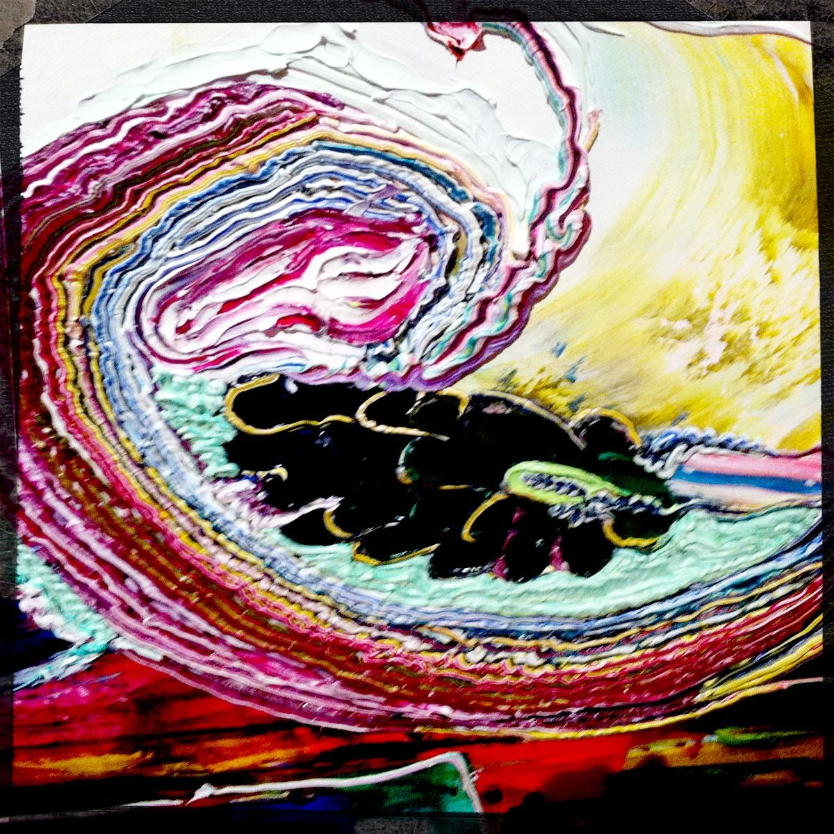 Julia Fernandez-Pol. I love how I am completely mesmerized by her work.
