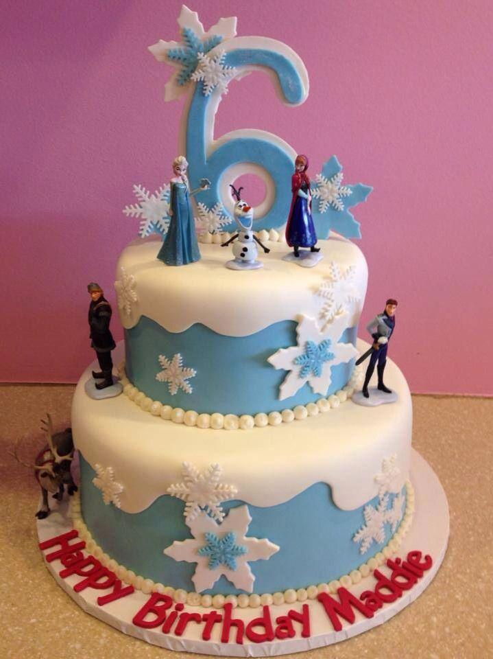 Frozen Cake GiGis Cupcakes Denver Sydneys Frozen Birthday Party