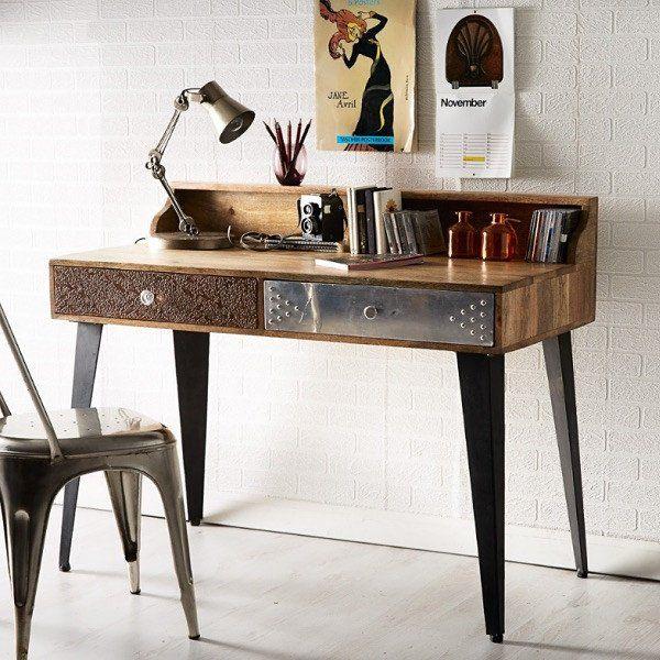 Sorio Reclaimed Wood Writing Desk - Sorio Reclaimed Wood Writing Desk Wood Writing Desk And Writing Desk