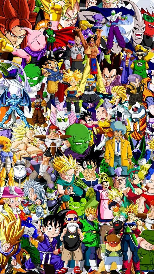 Dragon Ball Imagem De Fundo Para Iphone Wallpaper Legais Animes Wallpapers