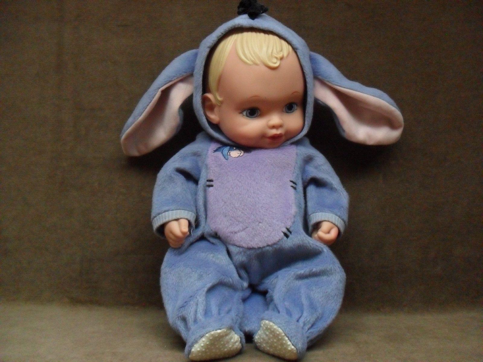 Vintage Lauer Toys Disney EEYORE Water Baby Doll 1990 • $19.99 | Dolls, Baby  dolls, Baby disney