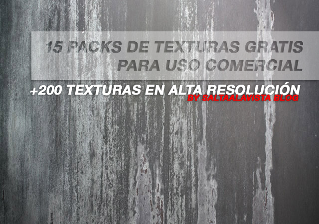 15 Free Texture Packs for Commercial Use