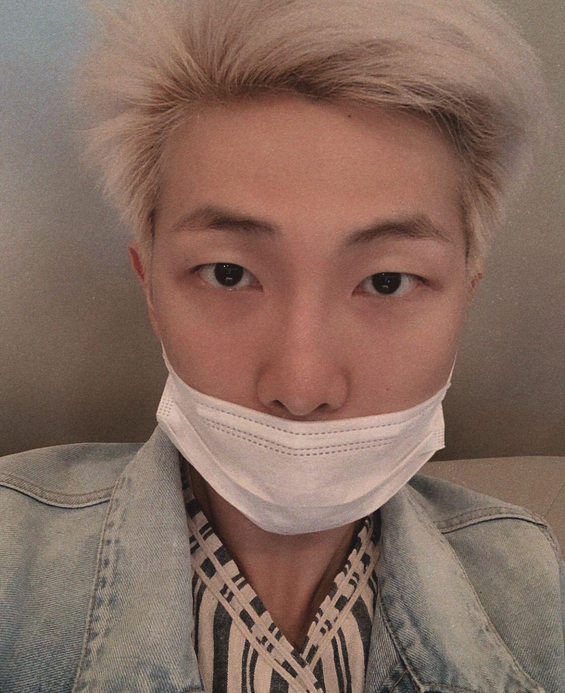 Namjoon Joon Rm Bts Bangtanboys Korean Kpop Idol Selca Baby Face Bangtan Boys Face