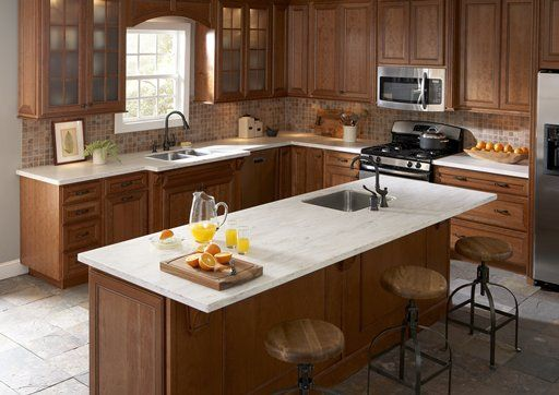 Witch Hazel By Corian® Countertops And Island