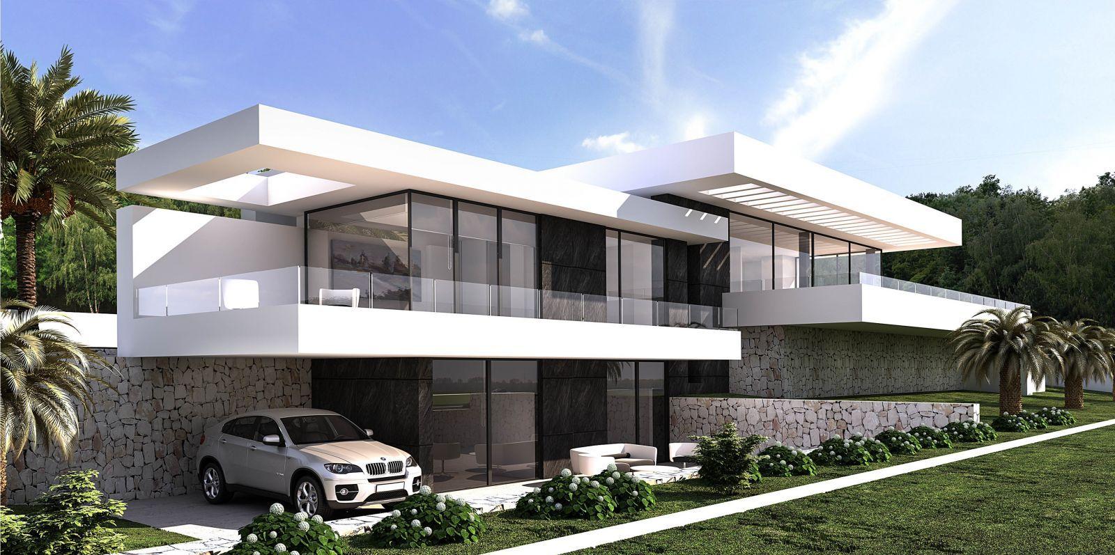 Affiner Votre Projet Avec Notre Agence De Construction Et Ses Agents Pour Obtenir Les Vi Maison Architecte Moderne Plan Maison Architecte Maison D Architecture
