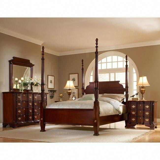 Lasting Traditions Bedroom Set American Woodcrafters in ...