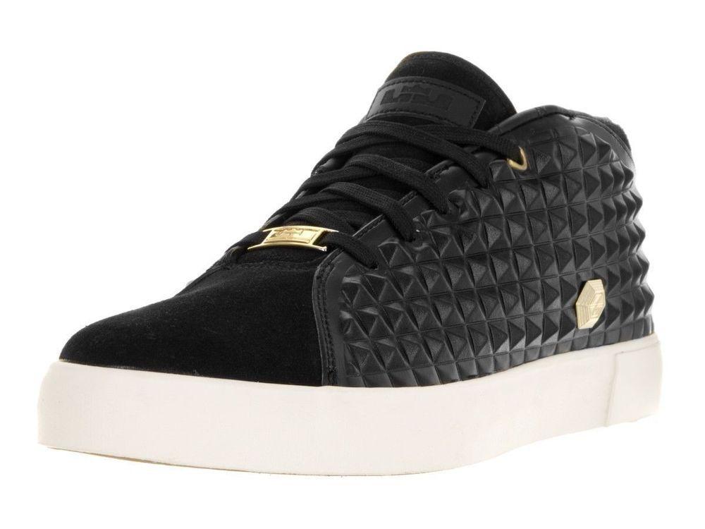 huge discount c2937 9976e Nike Men Size 10.5 Lebron James XIII LJ 13 Lifestyle Sneaker Shoe Black  819859  NikeLeBronJames  LifestyleSneakersShoes