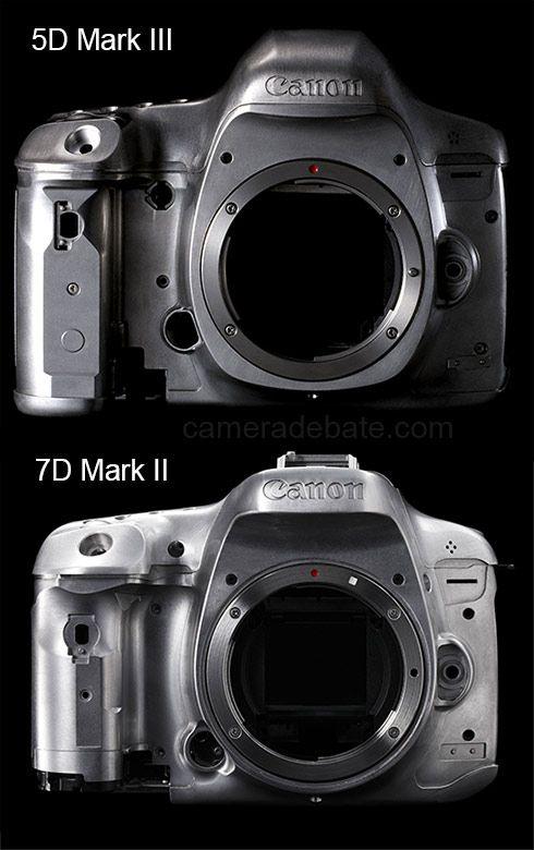 Canon 7d Mark Ii Vs Canon 5d Mark Iii Comparison Canon 5d Mark Iii Canon Canon Dslr