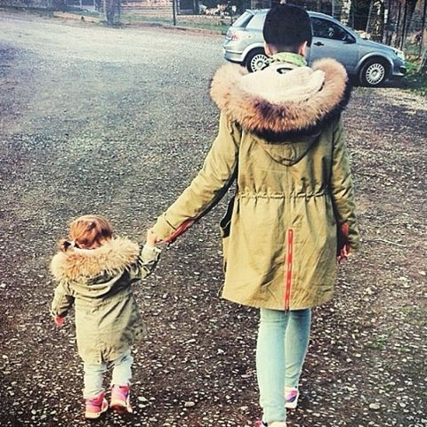 Fur Family✌ You are never too young for your first Parka :) Thank ...