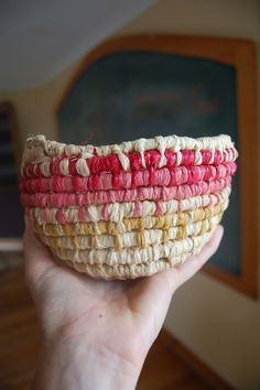 Simple basket weaving tutorial with Deb Cole