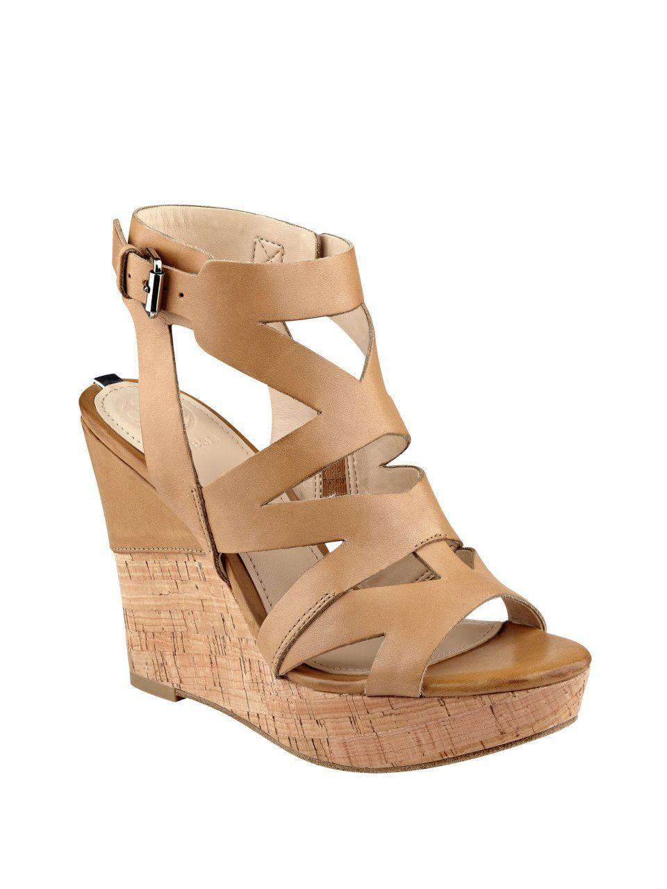 17fb05fc48bcd Hannele Cork Wedges   Products   Wedge sandals, Cork wedges y Wedges