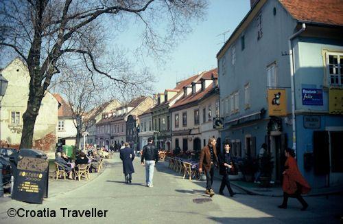 Tkalciceva Street Zagreb Zagreb Croatia Croatia Travel
