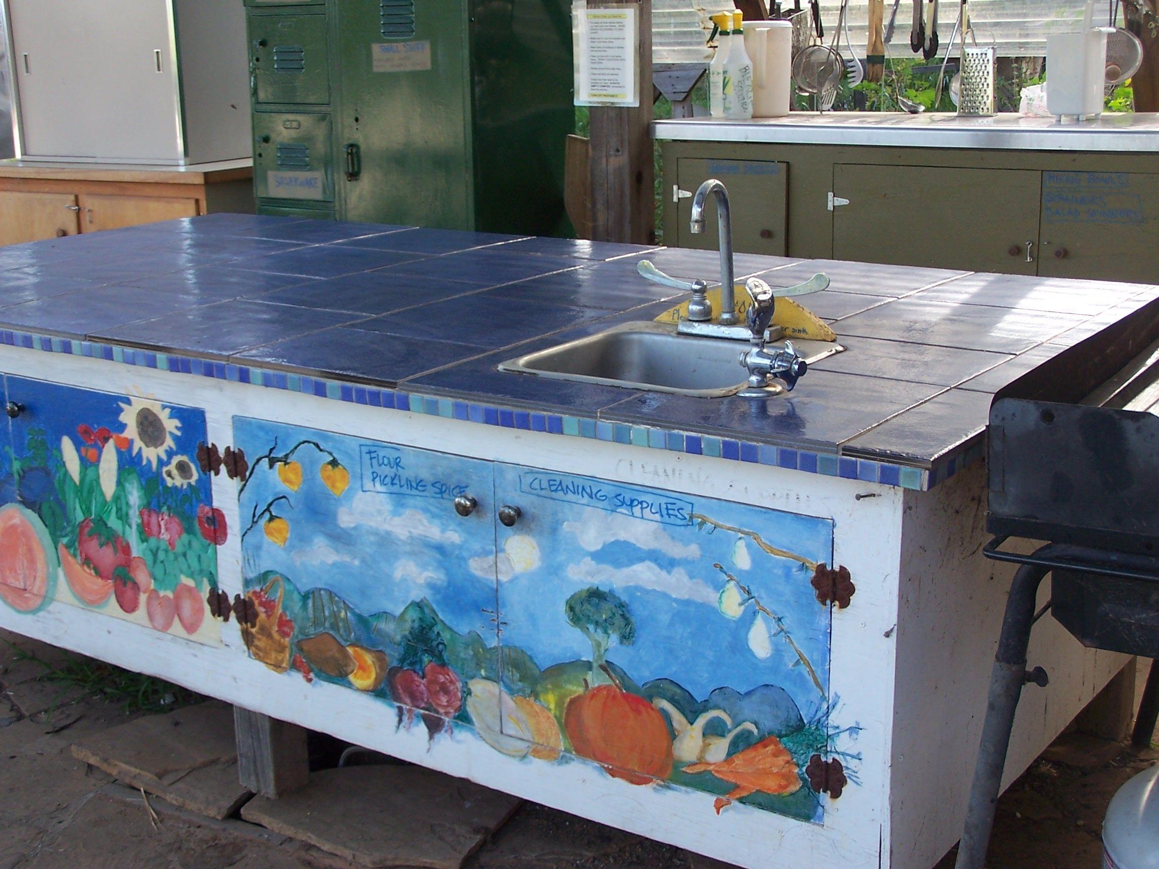 Kitchen classroom work station   School Garden Design   Pinterest ...