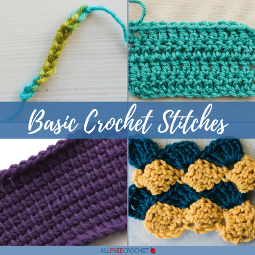 How To Crochet The Ultimate Beginner S Guide Of Tutorials And Patterns Allfr In 2020 Crochet Stitches Tutorial Crochet Stitches For Beginners Basic Crochet Stitches