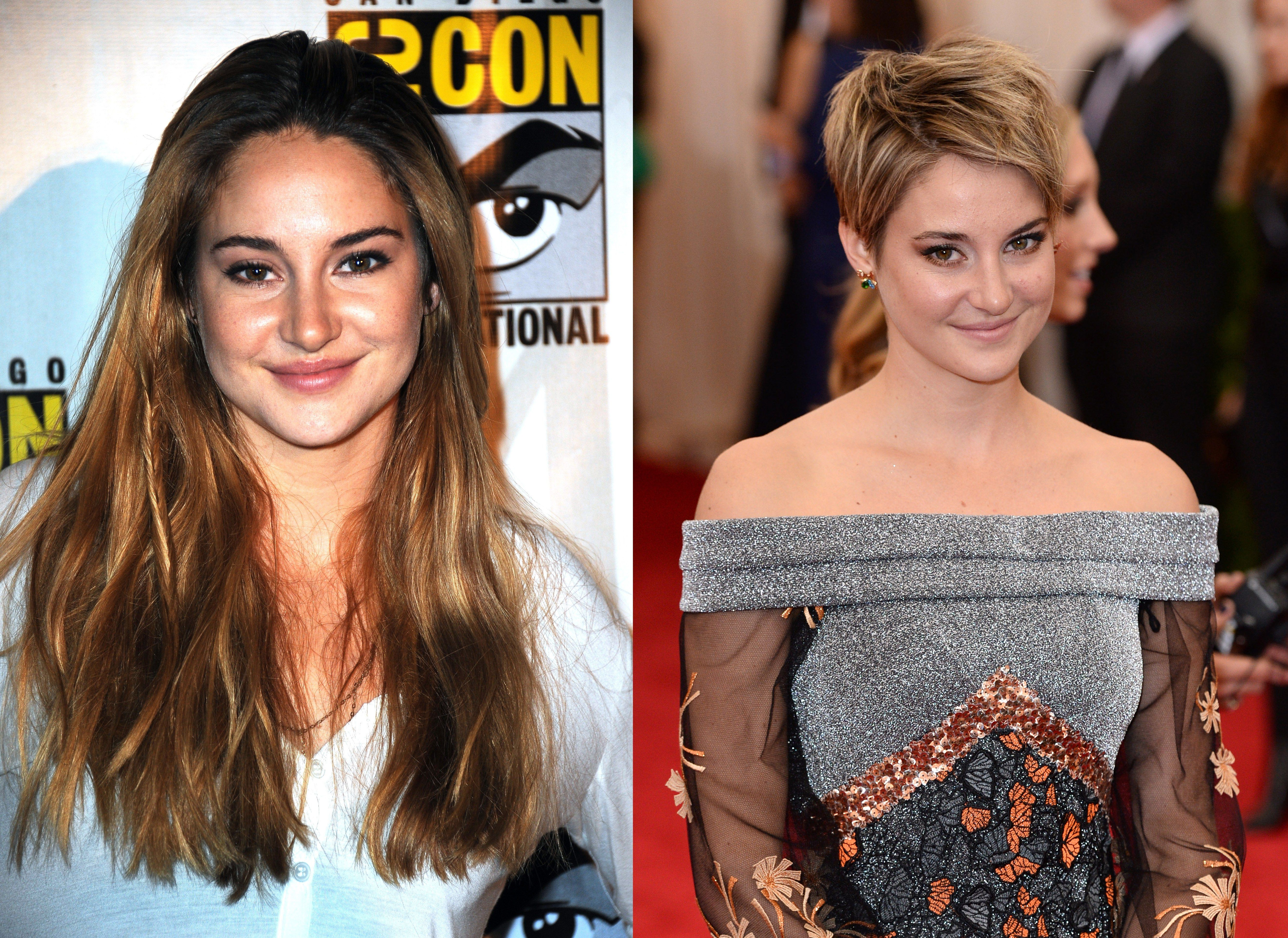 Celebrities Before and After They Got a Pixie Cut  Paigeus hair
