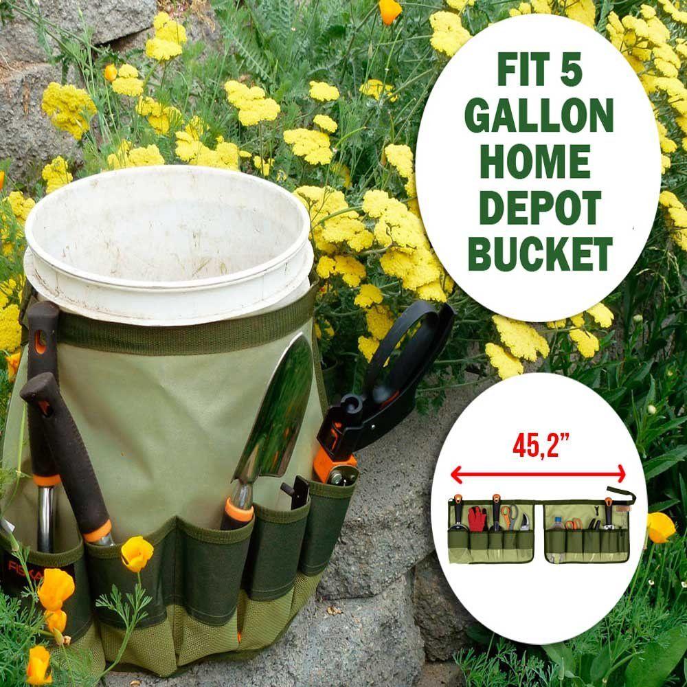 Handy bucket caddy fit 5 gallon home depot bucket new