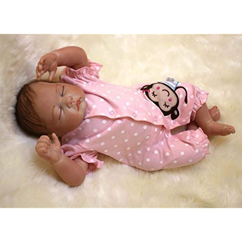 Maide Reborn Baby Dolls 22 Cute Realistic Soft Silicone Vinyl Dolls Newborn Baby Dolls With Clothes See Baby Dolls Real Life Baby Dolls Silicone Baby Dolls