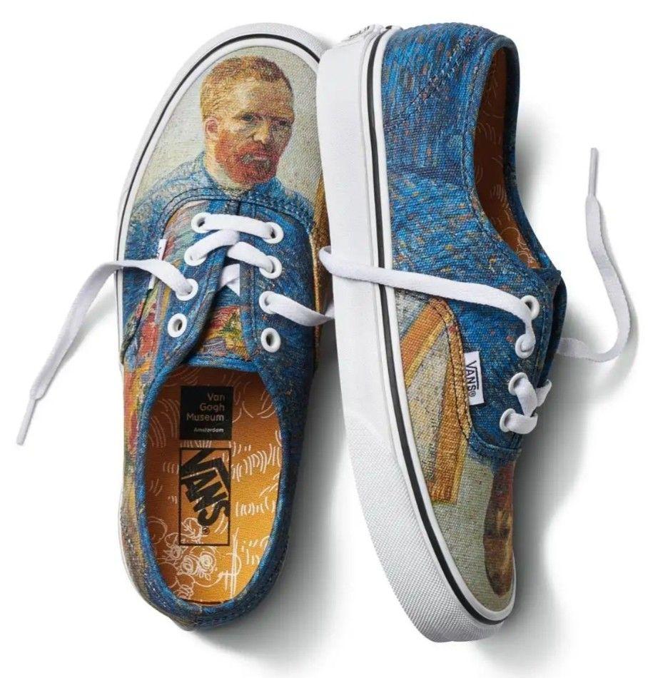 Vans Vincent van Gogh | Sapatos van, Vans, Vans personalizadas