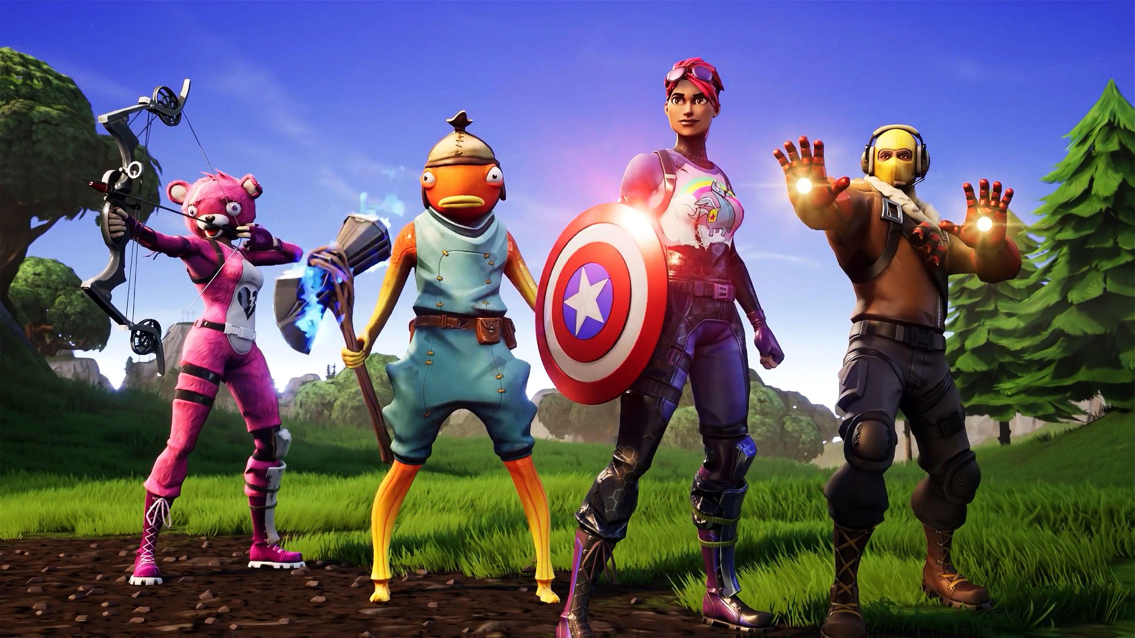 Avengers Fortnite X Superheroes Wallpapers Hd Wallpapers Fortnite Wallpapers Avengers Wallpapers 4k Wallpapers New Avengers Avengers Fortnite