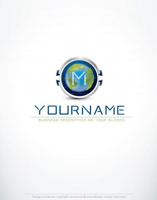 Exclusive design premium alphabet globe 3d logo free business exclusive design premium alphabet globe 3d logo free business card reheart Images