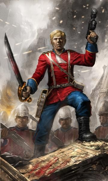 Imperial Guard Praetorian 40k art - Google Search | 40k ...