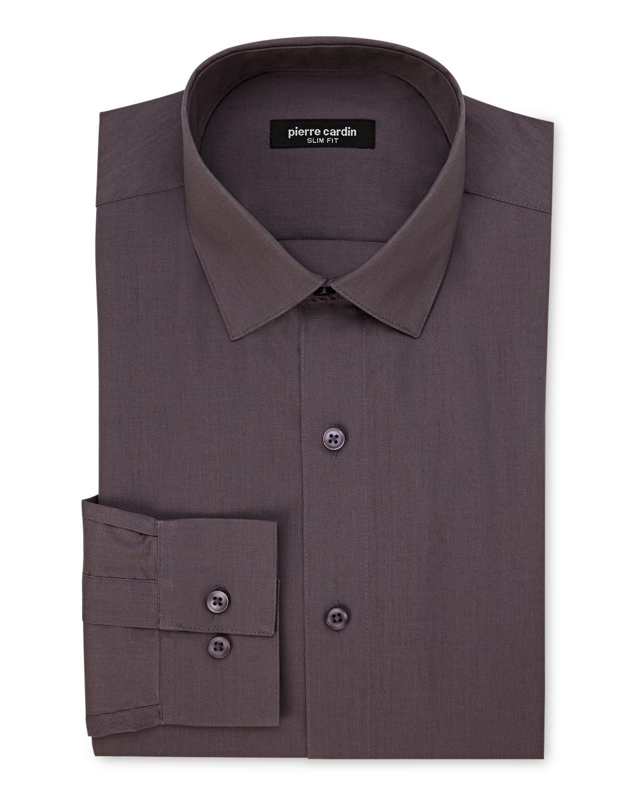 Slim Fit Charcoal Dress Shirt Pinterest Charcoal Dress Pierre
