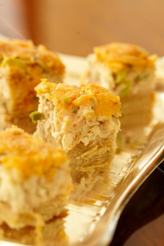 Crab Tarts | Really Good Food and Drink | Pinterest